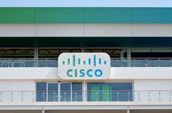 Site olympique de Chambre de Cisco Photo stock