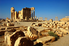 Site of Palmyra Royalty Free Stock Images