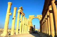 Site of Palmyra Royalty Free Stock Photos