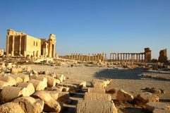 Site of Palmyra,Syria Stock Photography