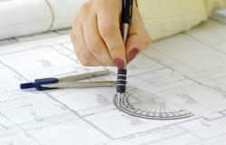 Site-Pläne 2 Stockfotos