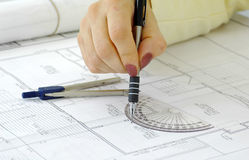 Site Plans 2 Stock Photos