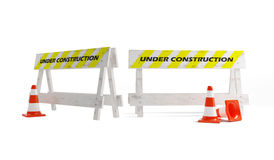 Site on a reconstruction Royalty Free Stock Photo