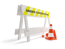 Site on a reconstruction Royalty Free Stock Photography