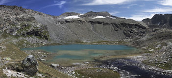 Site of the refuge of Carro,france. Site of the refuge of Carro, national park of Vanoise, department of Savoy, France Stock Photos