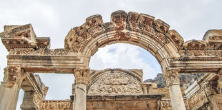 Site and ruins of Ephesus. Stock Images