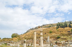 The site and ruins of Ephesus Royalty Free Stock Photos