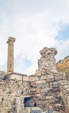 The site and ruins of Ephesus Stock Photo
