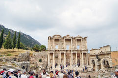 Site and ruins of Ephesus. Royalty Free Stock Image