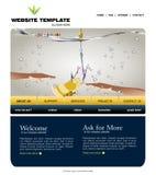Site-Schablone Stockfotos