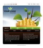 Site-Schablone Stockfoto