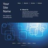 Site-Schablonen-Vektor Lizenzfreie Stockbilder