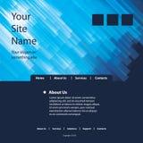 Site-Schablonen-Vektor Stockfotografie
