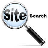 Site search Royalty Free Stock Photo