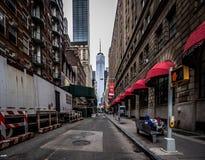 One World Trade Center, Manhattan, New York, USA. October 14 2018. stock photo
