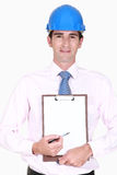 Site surveyor Royalty Free Stock Photo