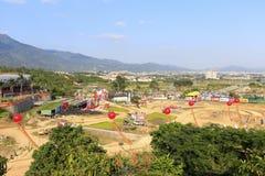 Site suvs arena of xiamen city Stock Photos