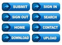 Site-Tasten Stockbilder