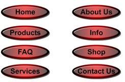 Site-Tasten Lizenzfreies Stockfoto