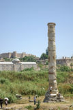 Site of the Temple of Artemis near Ephesus. Stock Photo