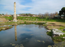 Site of temple of Artemis Royalty Free Stock Image