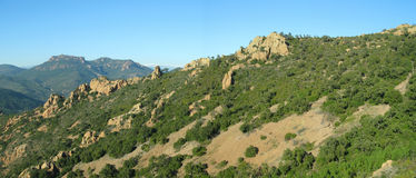 Site of the tooth of the bear, france Royalty Free Stock Image