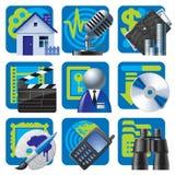 Site- und Internet-Ikonen 2 Lizenzfreie Stockfotos