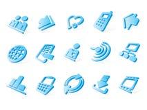 Site- und Internet-Ikonen Lizenzfreies Stockfoto
