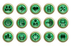 Site- und Internet-Ikonen Lizenzfreie Stockfotos
