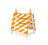Site under construction Royalty Free Stock Photography