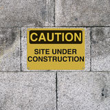 Site Under Construction Royalty Free Stock Image