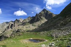 Site von Prals, Frankreich Stockbild