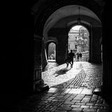 On-site Wawel Royal Castle, residency built at the behest of King Casimir III the Great Stock Photography