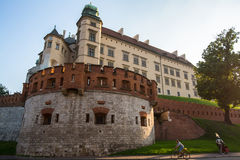 On-site Wawel Royal Castle, residency built at the behest of King Casimir III the Great Stock Images