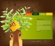 site Web de 01 descripteurs Images stock
