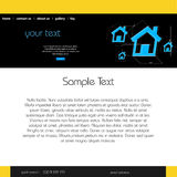 Site Web de conception de Web Photos libres de droits