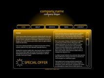 site Web de descripteur Image stock