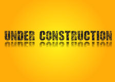 Site Web en construction Photographie stock