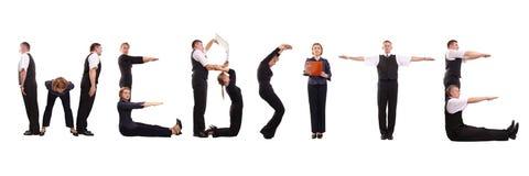 Sitegruppe Lizenzfreies Stockfoto