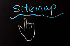 Sitemap Royalty Free Stock Images