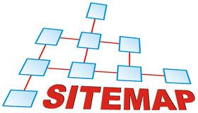 Sitemap Stock Images
