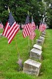 Sites graves de vétéran Image stock