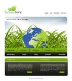 Siteschablone Lizenzfreie Stockfotos