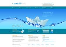 Siteschablone: Innovationen Lizenzfreies Stockbild
