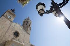 Sitges, Καταλωνία, Ισπανία στοκ φωτογραφία