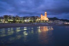 Sitges Барселона стоковые изображения