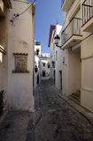 Sitges Alley royalty free stock images