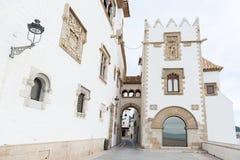 Sitges - Barcellona (Spagna) Fotografia Stock