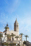 Sitges, Barcelona in Catalonia Province Royalty Free Stock Photo