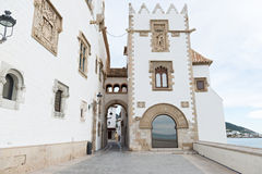 Sitges - Barcelona (Spain) Royalty Free Stock Photography
